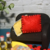 Hand stitched cushions