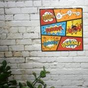 Fun wall art