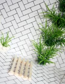 Balsa wood 'bamboo' mat