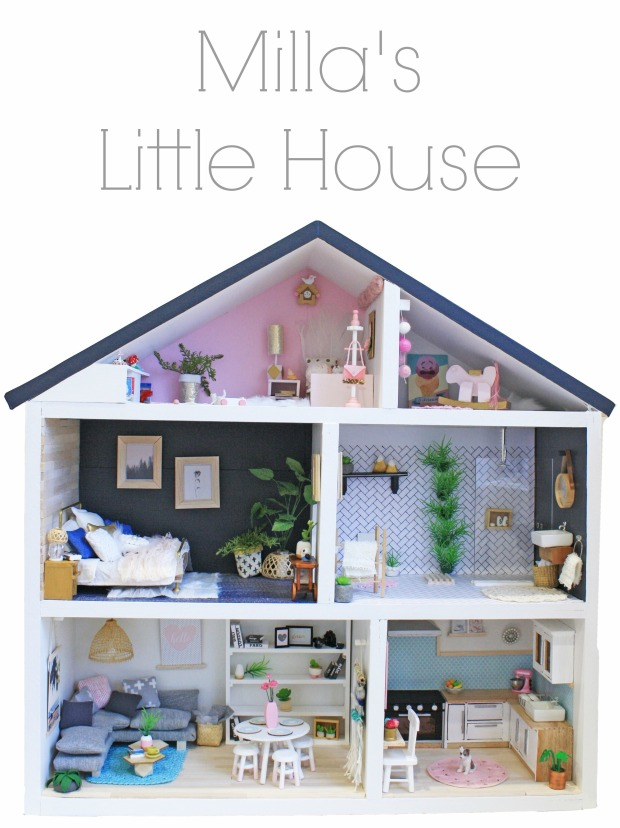 Milla's Little House Text